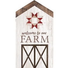 Welcome To Our Farm | Word Block