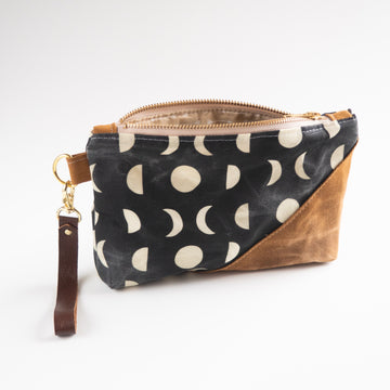 Burst into Bloom - Moon Phase Wristlet