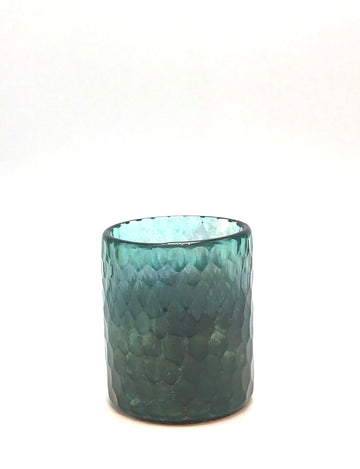 TURQUOISE TEALIGHT HOLDERS