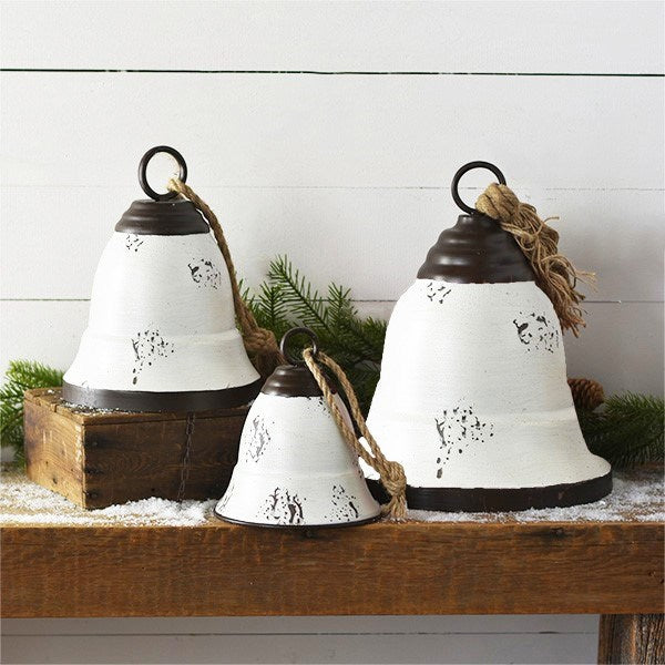 Tin Bells Set of 3
