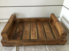 Wooden Slat Tray- pick up only