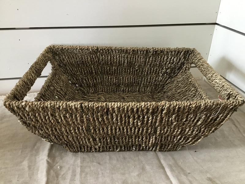 Large Seagrass Coupe Basket- pick up only