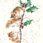 Christmas Mice Enclosure Card