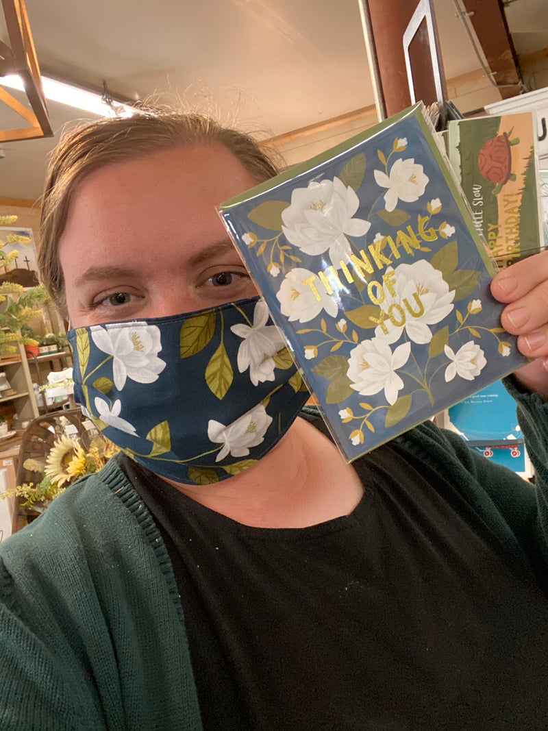 Goldenrod Raleigh Face Mask