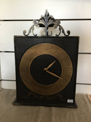 Black and Gold Clock