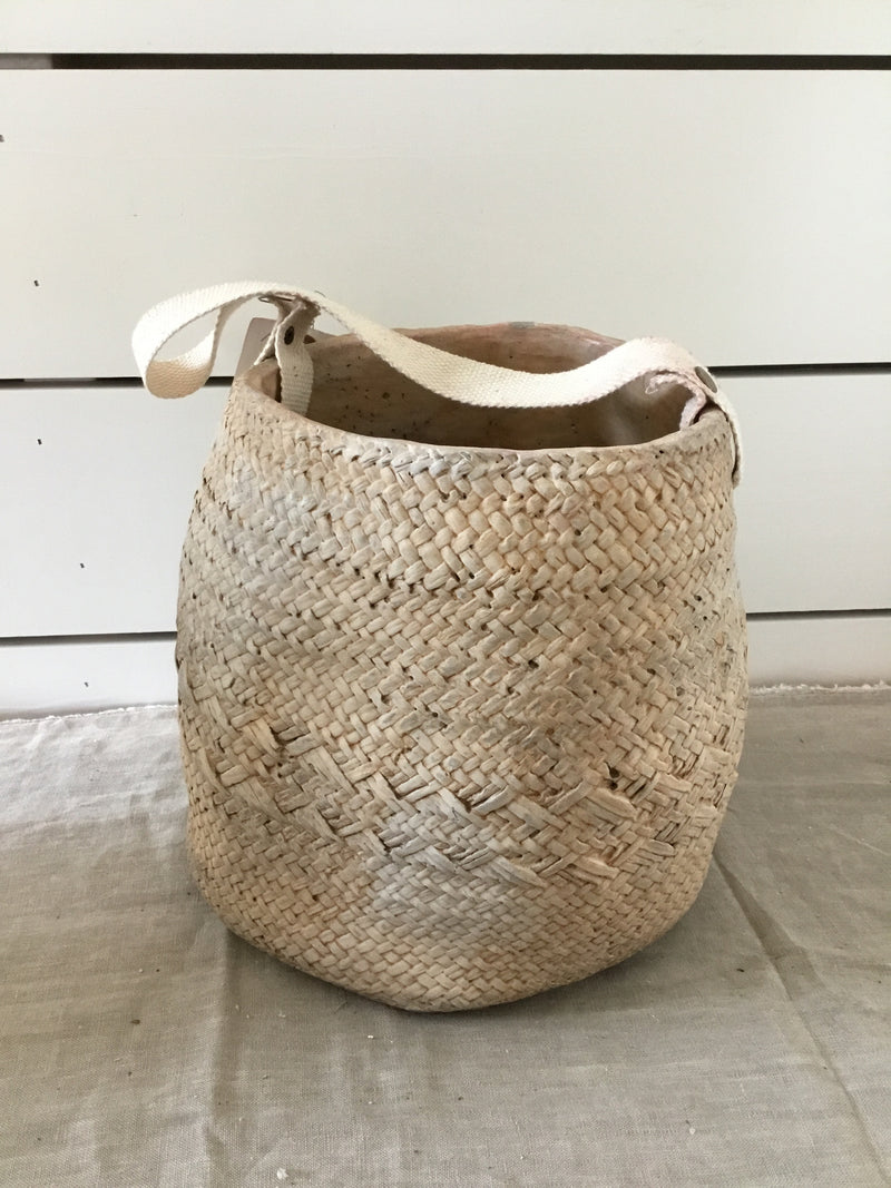 Woven Cement Planter- pick up only