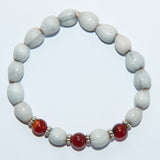 Blessing Bead Bracelet - Agate Brown