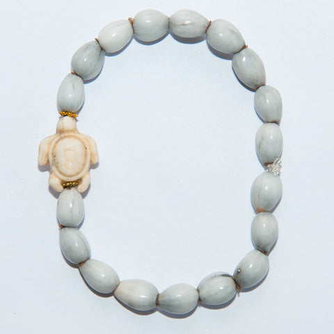 Blessing Bead Bracelet - Seaturtle Ivory