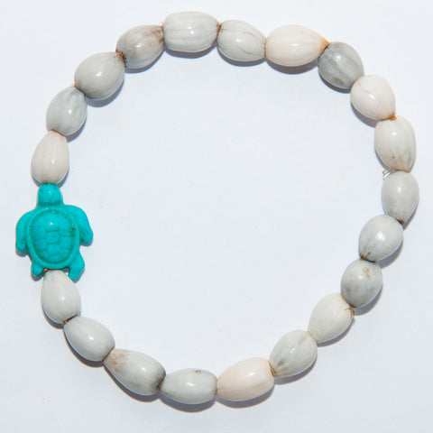 Blessing Bead Bracelet - Seaturtle Turquoise