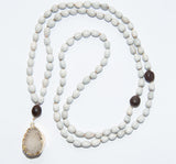 Blessing Bead Necklace - Crystal Large