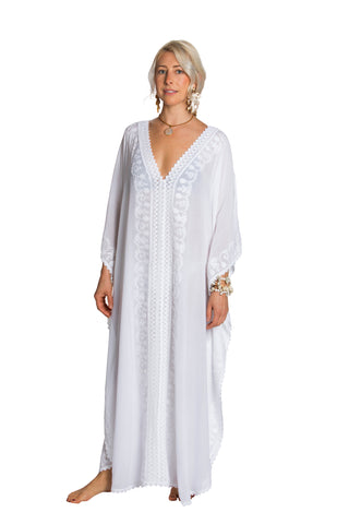 Cabana Caftan — Queen Triton Deep Sea