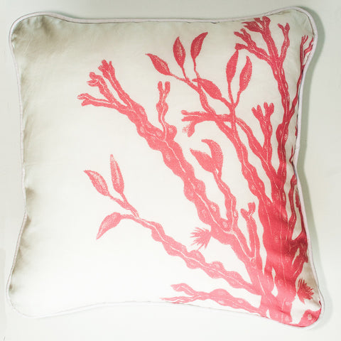 Coral Coral Throw Pillow