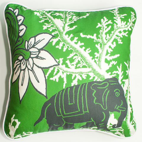 Lucky Elephant Decorative Throw Pillow