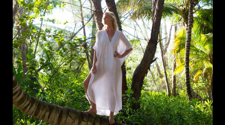 Indigo Palm Resort Wear - Kaftans