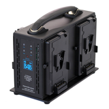 High Output 155Wh V-Mount 4 Battery / Charger Package