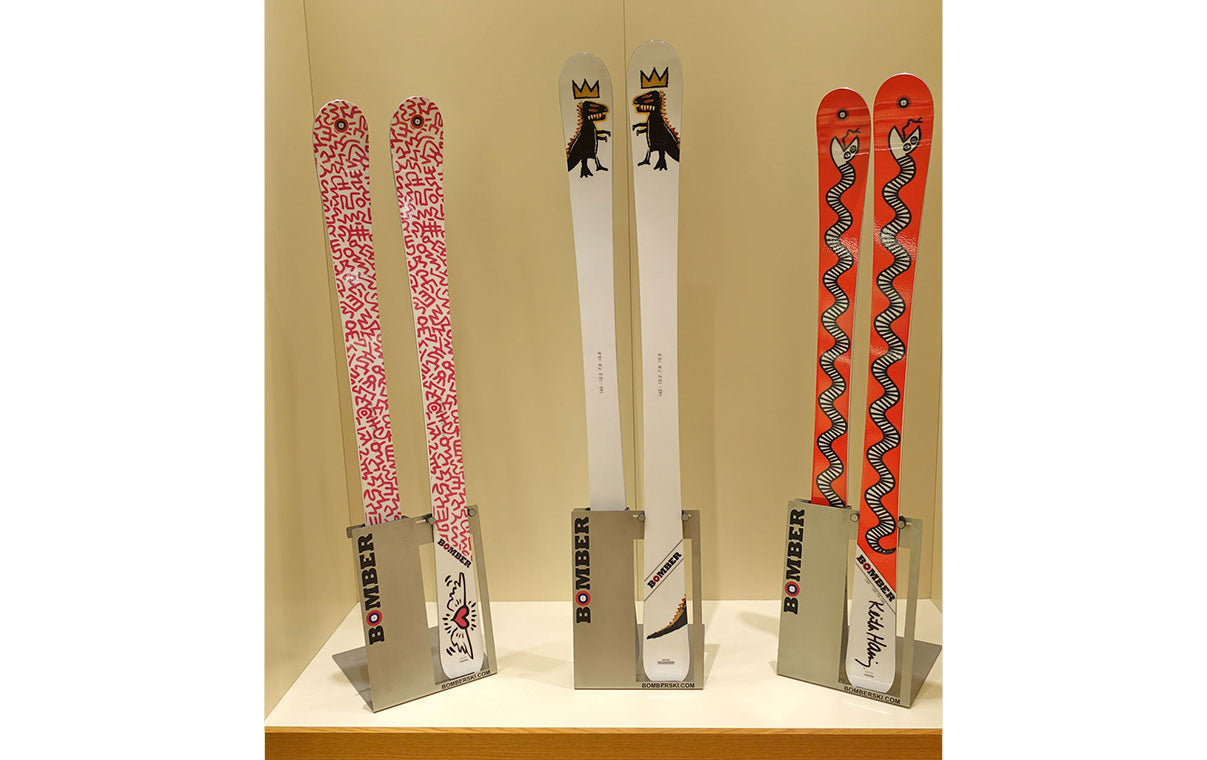 Junior Bomber All-Mountain Skis, Americana Manhasset