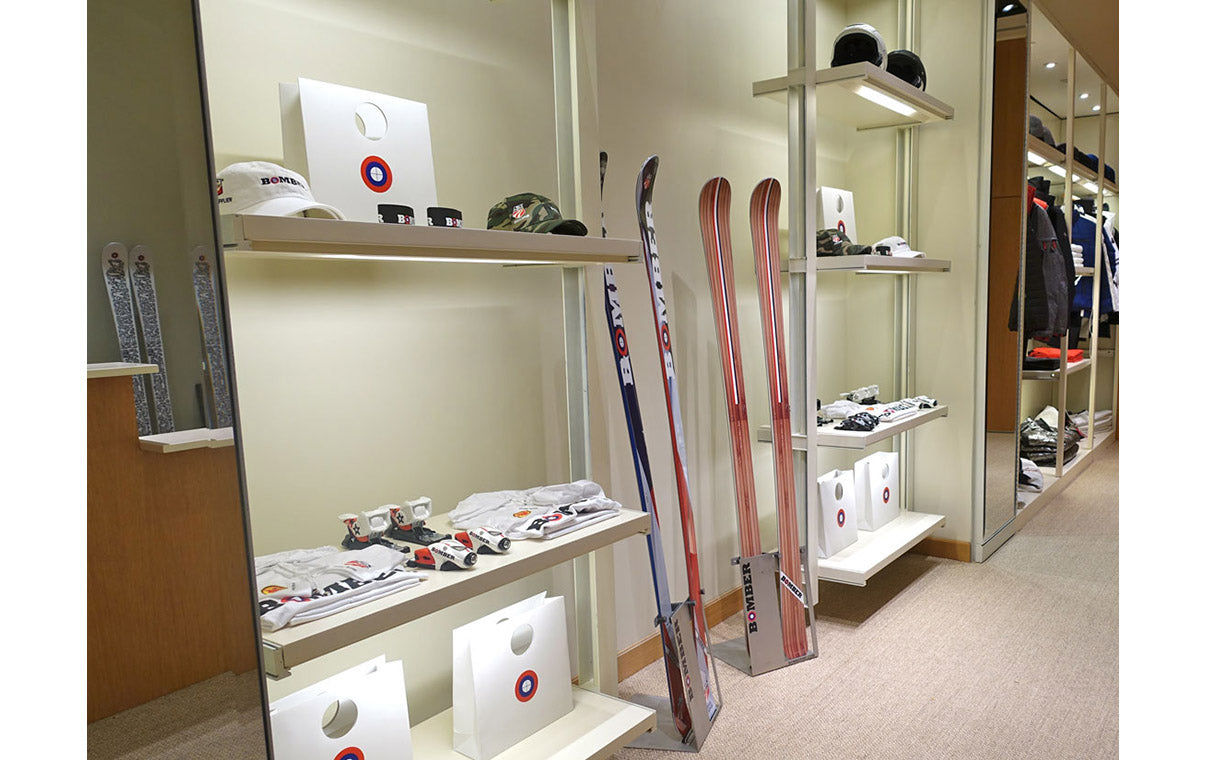 Bomber Ski Alpine All-Mountain Ski and Merchandise, Americana Manhasset