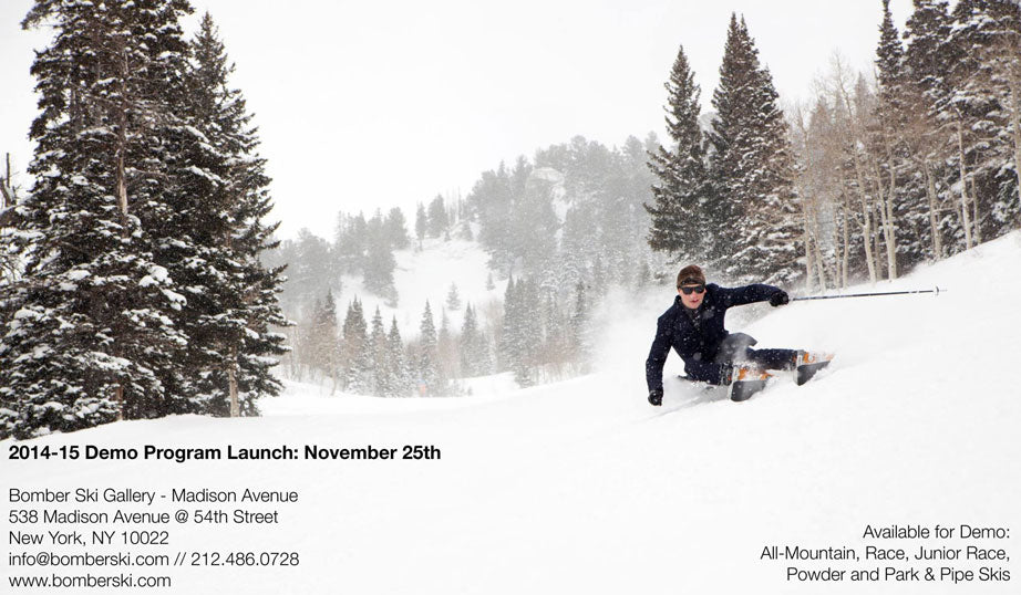 bomber ski demo program at madison avenue gallery