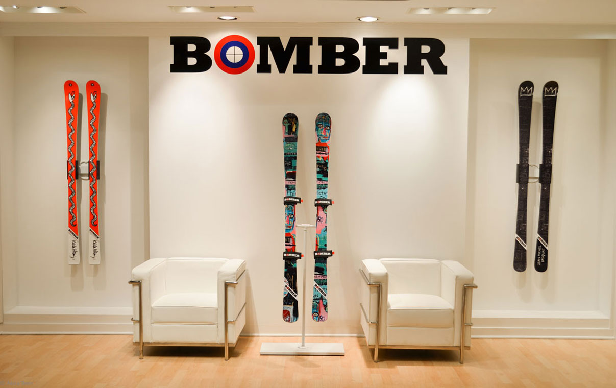 Bomber Gallery on 538 Madison Avenue in New York City