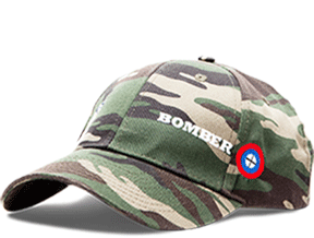 Bomber Ski Gears - Camouflage Cap