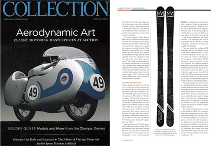 bomber alpine all mountain ski featured in robb report collection in february 2014