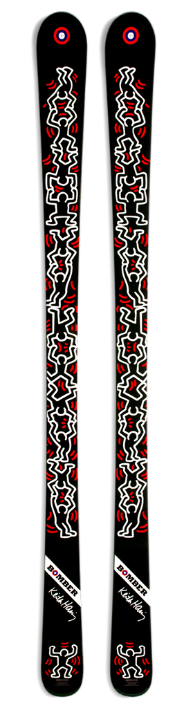 All Mountain Artist Series Haring Handstand Ski