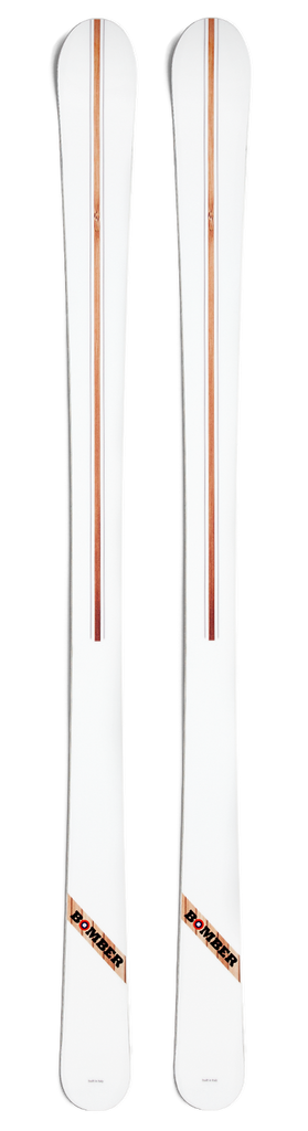 Bomber Ski Olympic White Alpine All-Mountain Ski