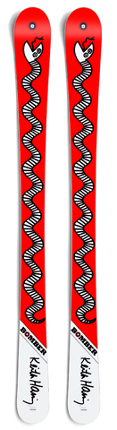 Ski - Junior All Mountain Artist Series Haring Red Snake Ski