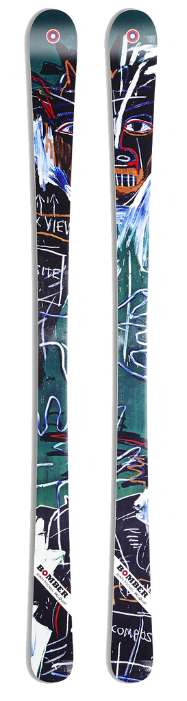 All Mountain Artist Series Basquiat Self Portrait Ski