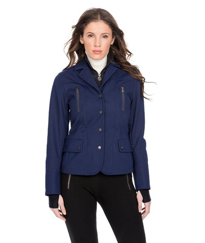 Merchandise - Women's Blue Bomber Alpine Ski Jacket