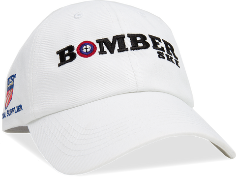 Merchandise - Bomber Hat | White