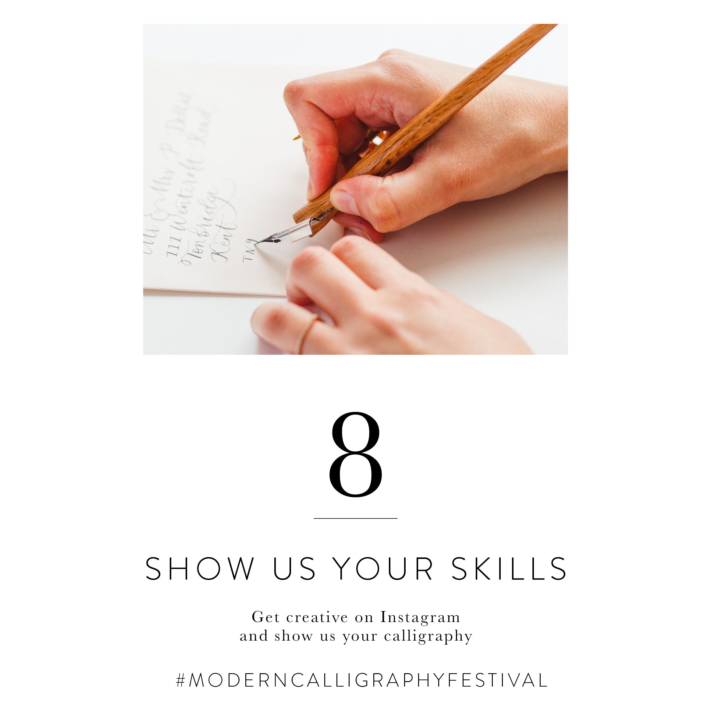 Quill London | Modern Calligraphy Festival | Top 10 Things To Do This Modern Calligraphy Festival | Show Us Your Skills And Ge Creative With Calligraphy For A Chance To Be Reposted On Our Instagram Stories