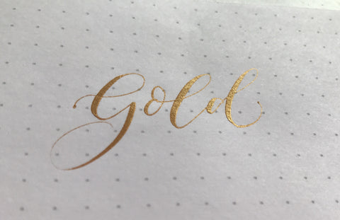 Beginner's Guide to Modern Calligraphy: How to use the Finetec palette