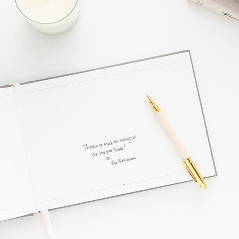 Quill London Guest Book Wedding Gift