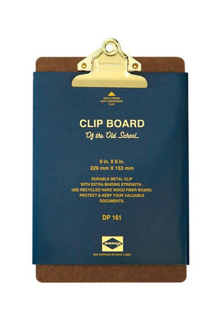 Penco Brass Clipboard Stationery Gifts from Quill London