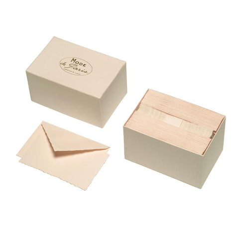 Mode De Paris Notecard Set Paper Anniversary Gifts Quill London