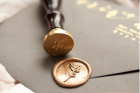 Quill London Stationery Letter Writing Month Stamptitude Wax Seal Stamp