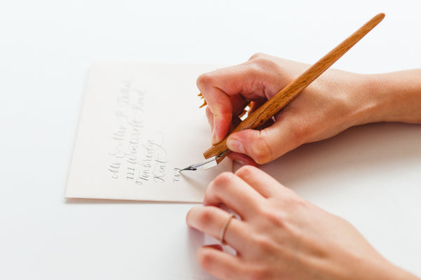 London Calligraphy Studio | Wedding & Events | Envelope Addressing