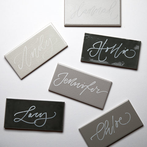 Modern Calligraphy Services | Weddings by Quill London