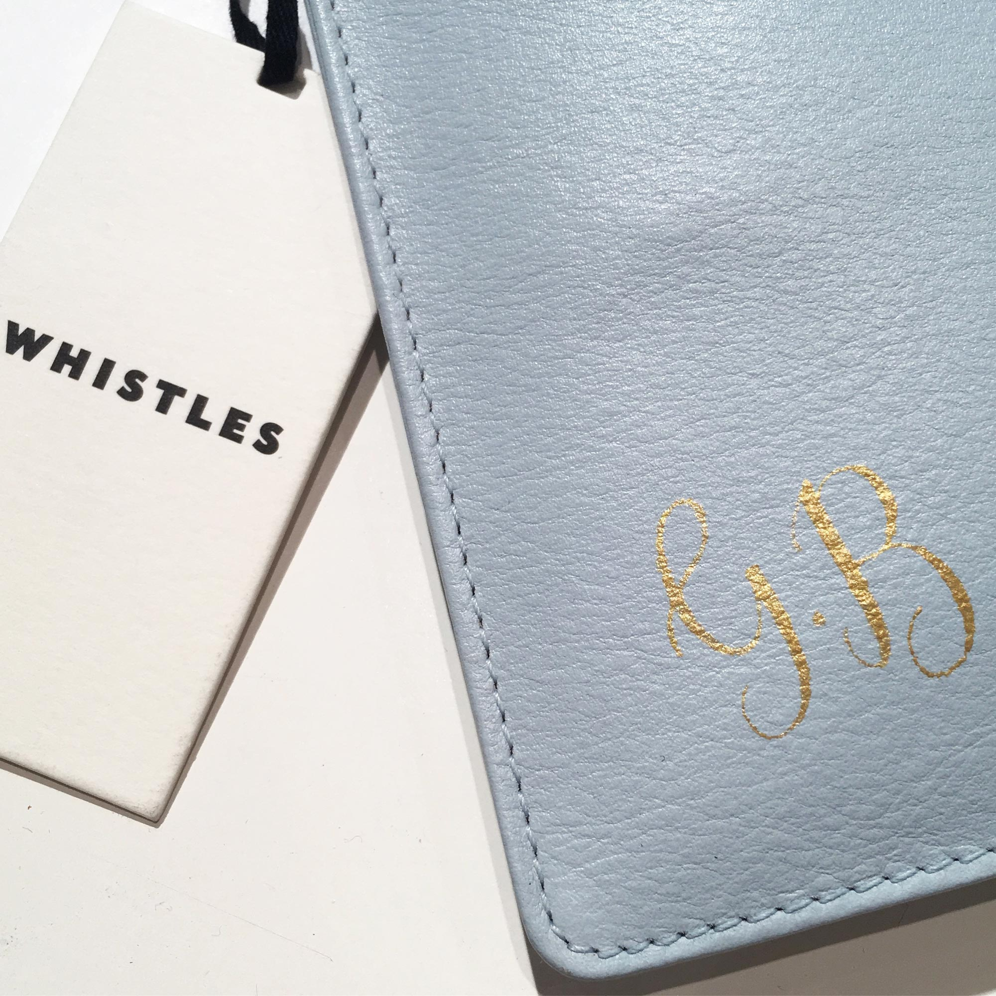 Quill London | Inspiration From Our Studio | Monogrammed Leather Cases // Whistles