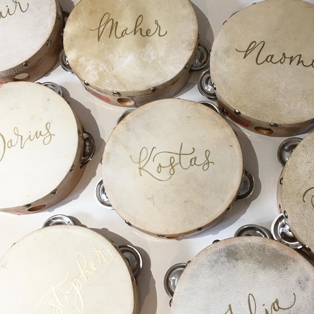 Quill London | Inspiration From Our Studio | Tambourine Placement // Liz Linkleter Studio