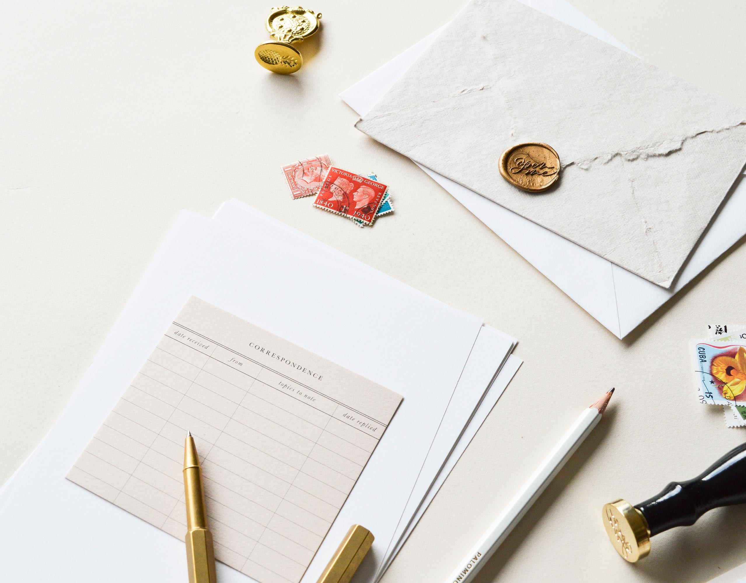 Quill London | Luxury Stationery & Modern Calligraphy Supplies | Letter Writing Month | Correspondence