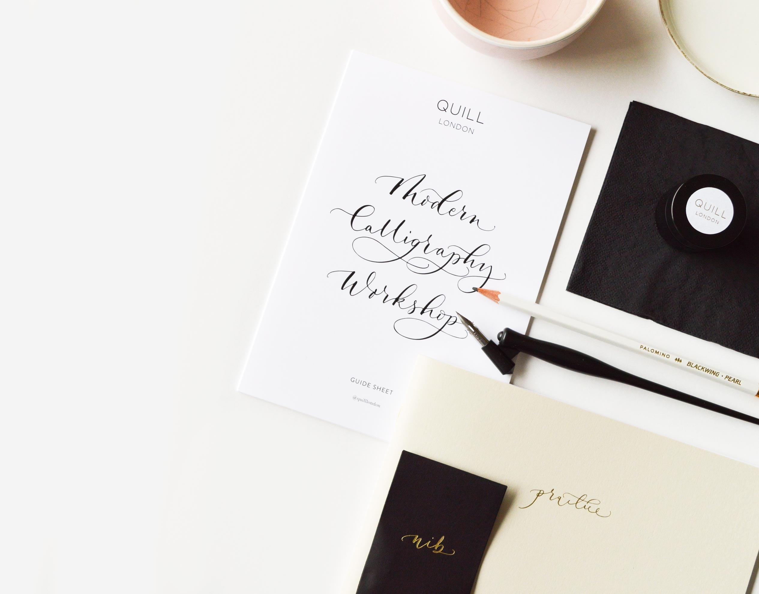 Modern Calligraphy Online Workshops | London | Stationery And Modern Calligraphy Supplies | London & UK | Quill London