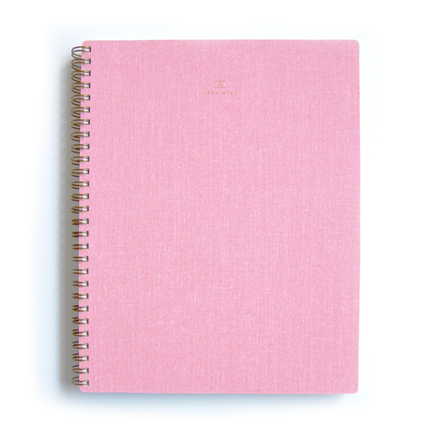 Appointed Blossom Pink Notebook Quill London Stationery Gifts