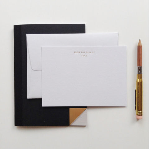 Personalised Correspondence Cards from Quill London