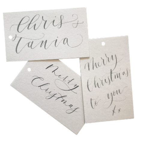 Personalised Gift Tag Service Quill London
