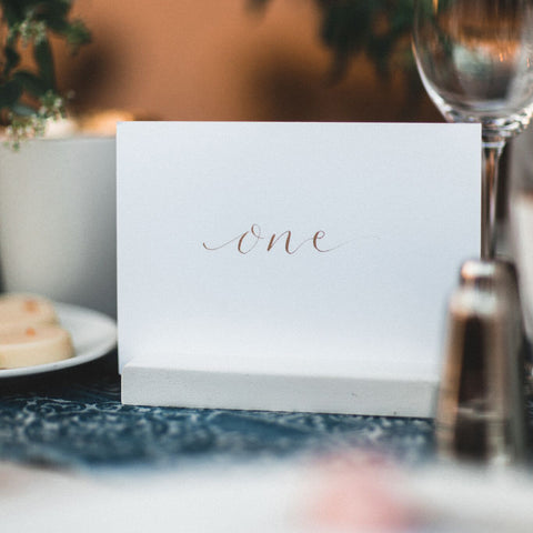 On The Day - Table Names | Wedding Collection | Invitations by Quill London