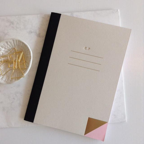 Quill London Personalised Notebook Gift