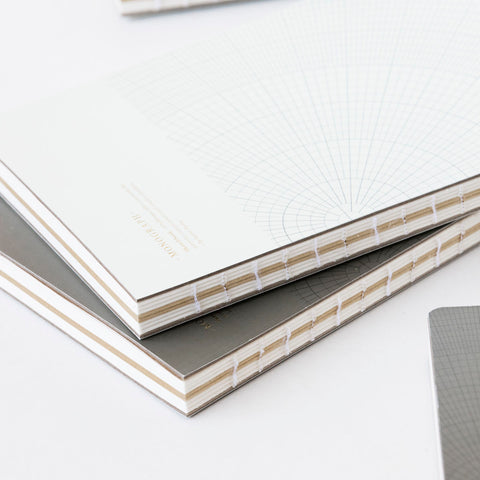 Notebook Monograph Stationery Quill London