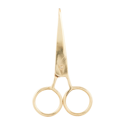 Gold Scissors Monograph Stationery Quill London